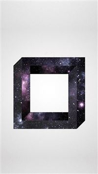 Abstract Square Space Art iPhone se wallpaper