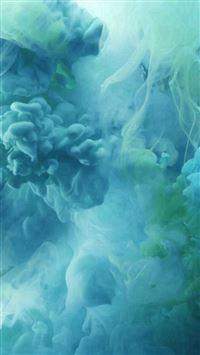 Teal Smoke Texture iPhone se wallpaper
