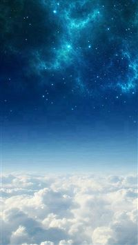 Space Above The Clouds iPhone se wallpaper