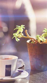 Cafe Coffee City Bokeh Life Art Nature Bokeh iPhone se wallpaper