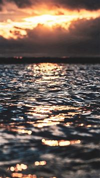 Sea Wave Sun Nature iPhone se wallpaper