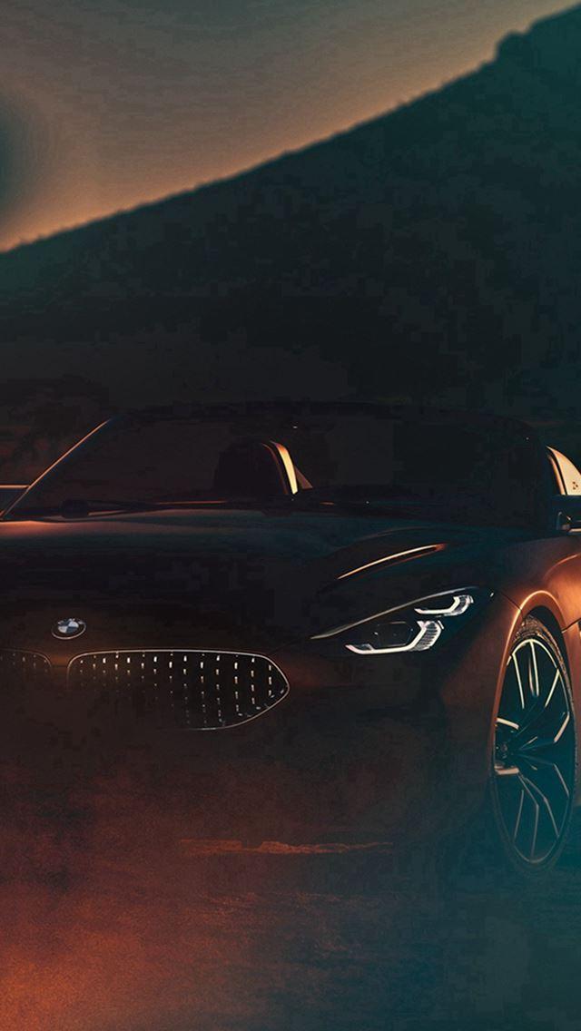 BMW Car Photo Illustration Art iPhone se wallpaper