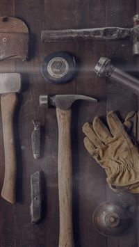 Woodworker Workshop Tools iPhone se wallpaper