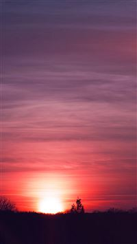 Sky sunset iPhone se wallpaper