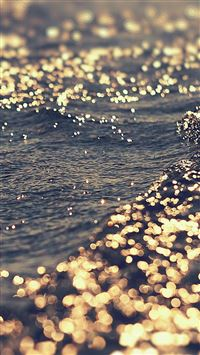 Gold sea water iPhone se wallpaper