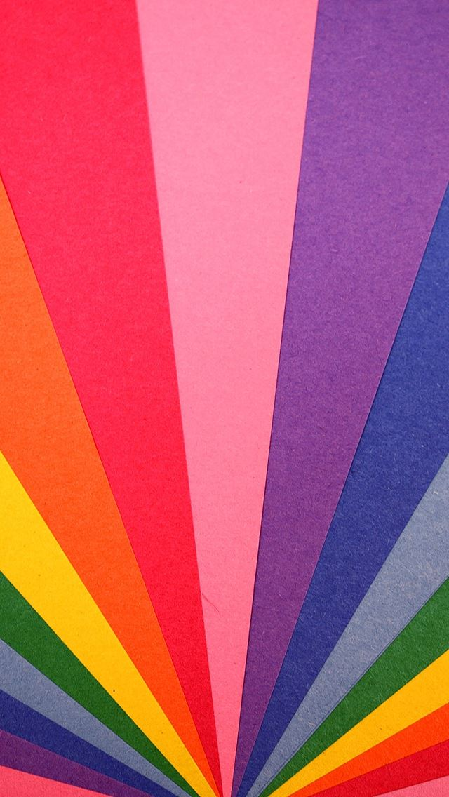 Rainbow light pattern iPhone se wallpaper