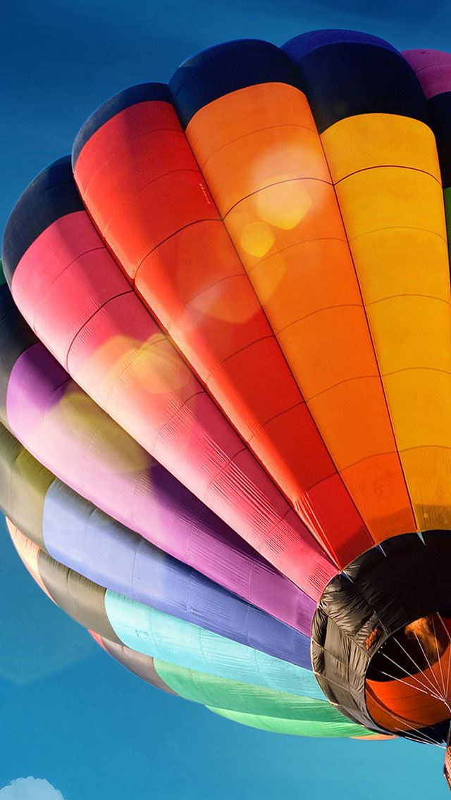Baloon pretty sky iPhone se wallpaper