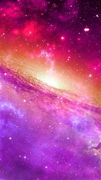 Space universe nebula star light iPhone se wallpaper
