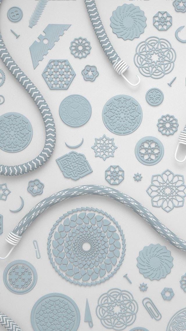 Simple pattern art illustration iPhone se wallpaper