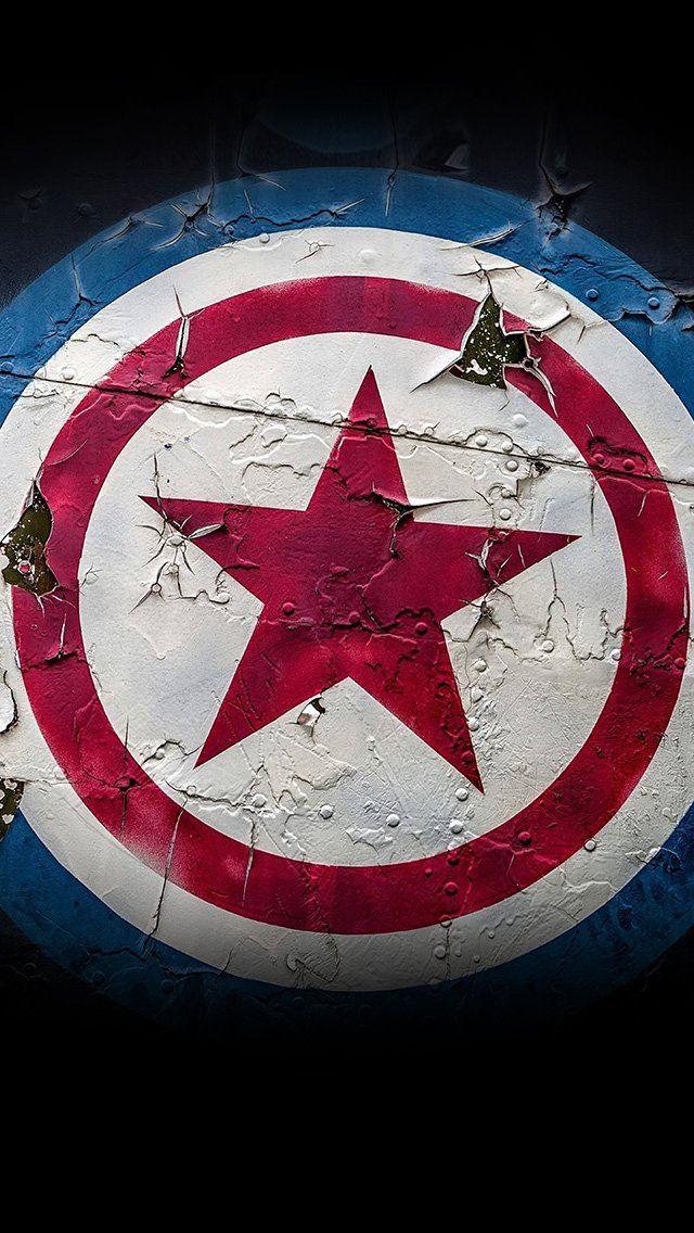 Captain america marvel hero iPhone se wallpaper
