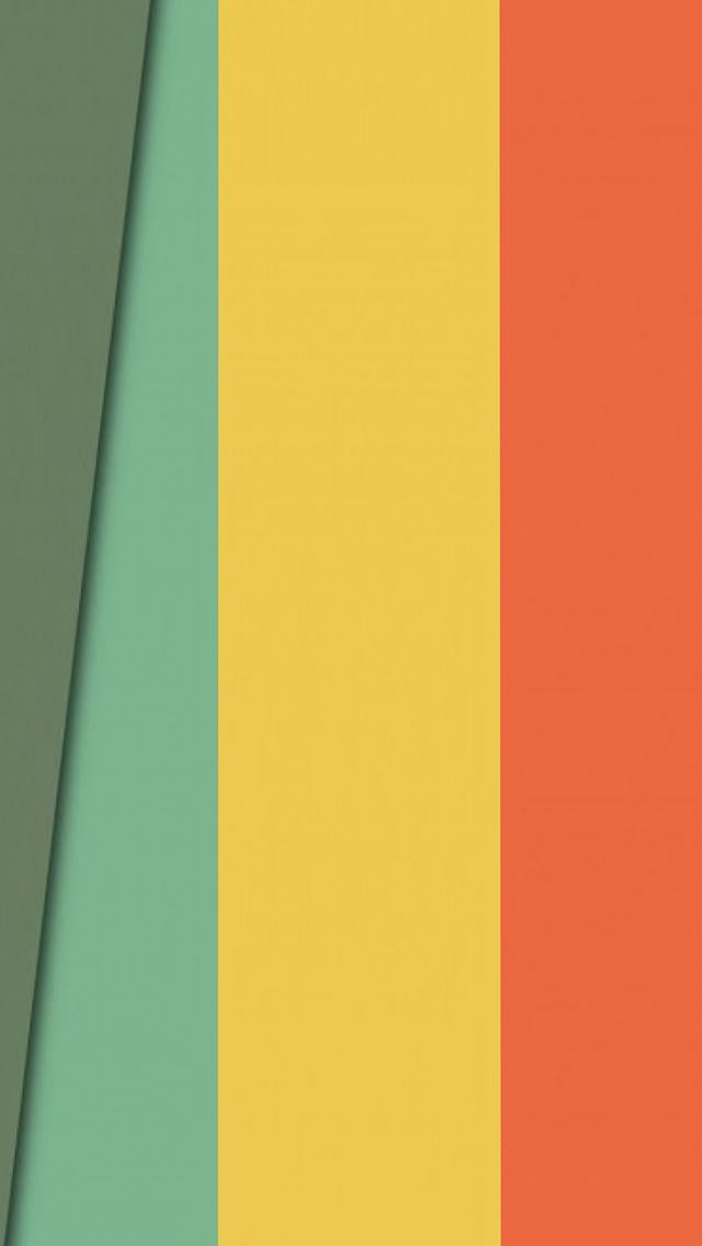 Classic rainbow stripes iPhone se wallpaper