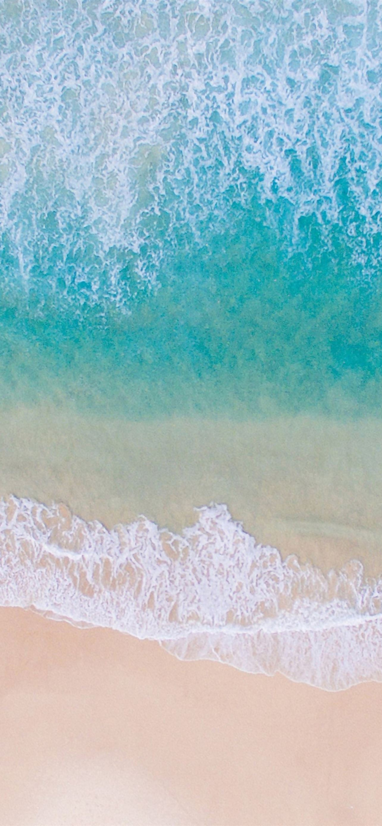 Blue sea beach iPhone se wallpaper