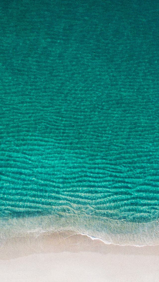 Blue sea sand iPhone se wallpaper