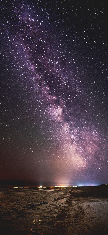 Milky Way iPhone se wallpaper
