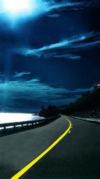 Highway Nights iPhone se wallpaper