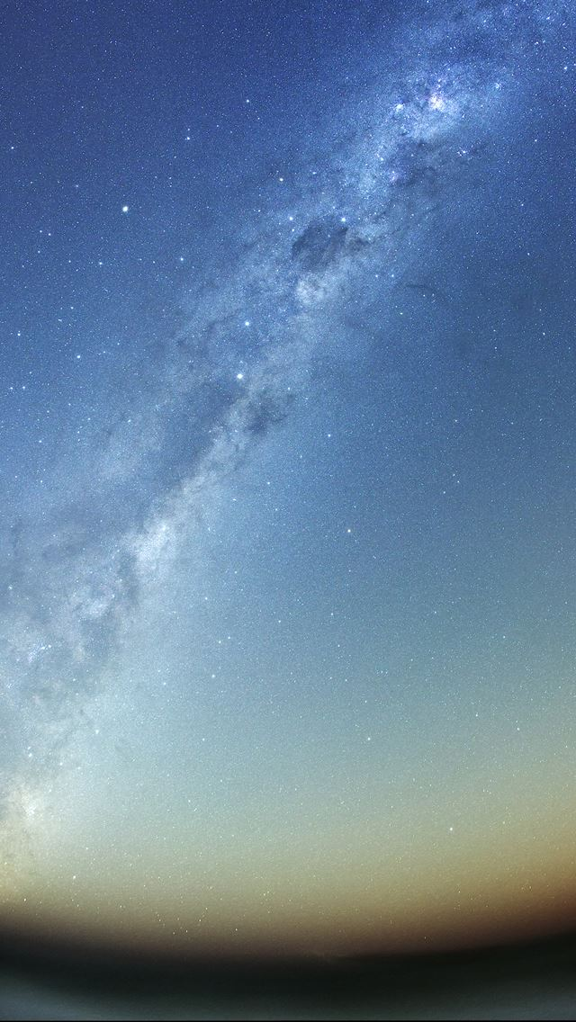 Milky Way Galaxy iPhone se wallpaper