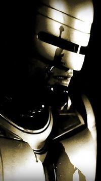 Robocop 2014 iPhone se wallpaper