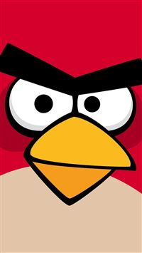 Angry Birds iPhone se wallpaper
