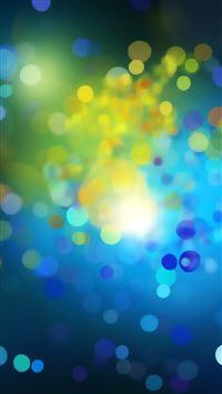 Blue Drops iPhone se wallpaper