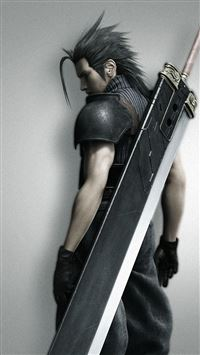 Final Fantasy Soldier iPhone se wallpaper