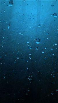 Blue Minimalistic Drops iPhone se wallpaper
