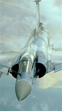 Mirage 2000 French iPhone se wallpaper
