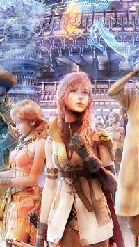 Final Fantasy Girl iPhone se wallpaper