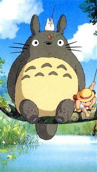 Ghibli My Neighbo iPhone se wallpaper