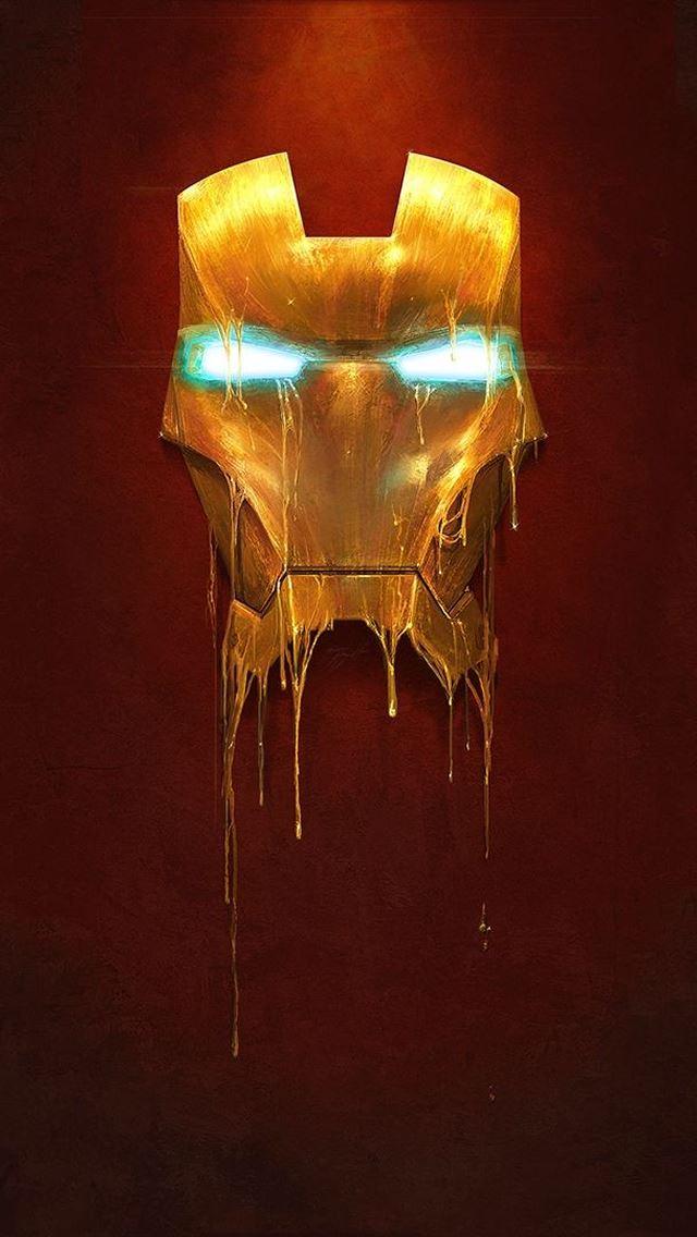 Iron Man Mask iPhone se wallpaper