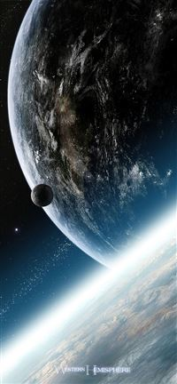 Planets Earth iPhone se wallpaper