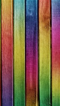 Colorful Wood iPhone se wallpaper