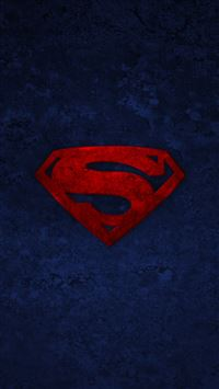 Superman Logo iPhone se wallpaper
