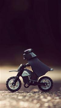 Lego Darth Vader iPhone se wallpaper