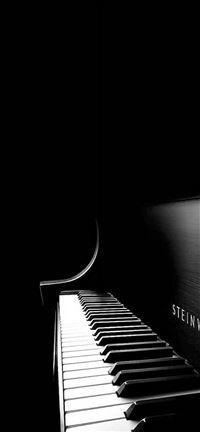Black Piano iPhone 5(s/c)~se wallpaper