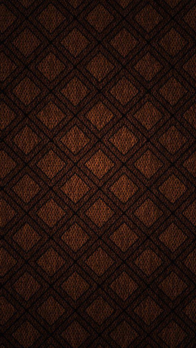 Square Pattern On Fabric Digital Art IPhone Se Wallpaper