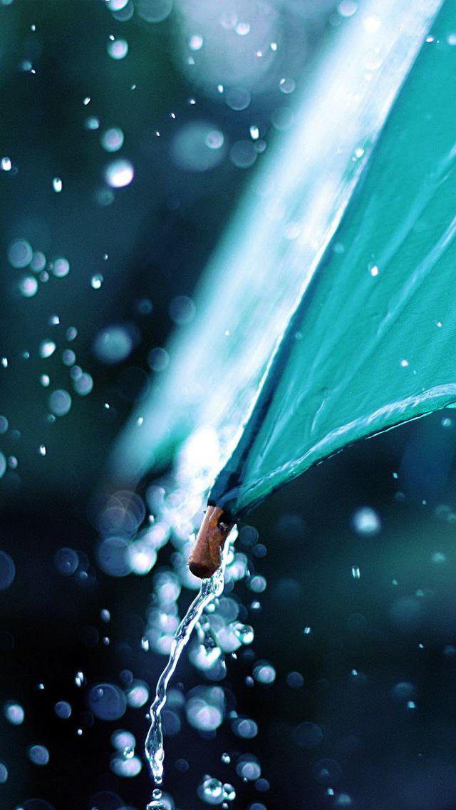 Rain Umbrella IPhone Se Wallpaper