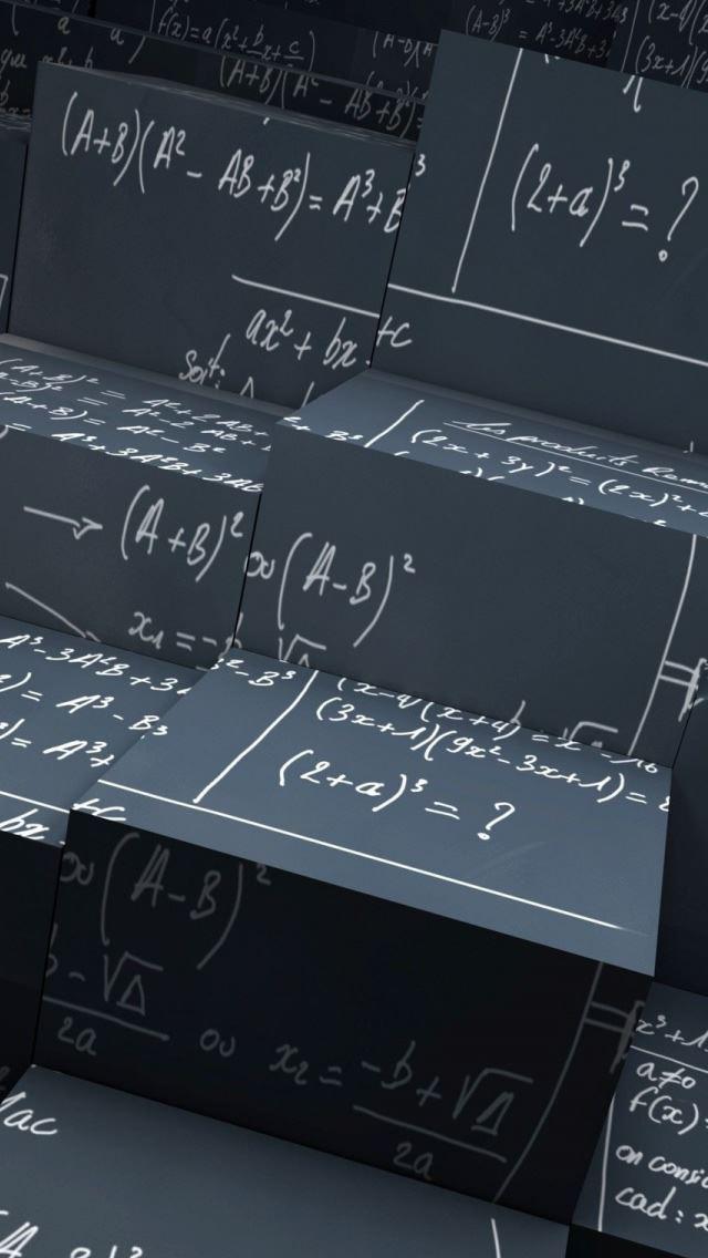 Math Equations IPhone Se Wallpaper