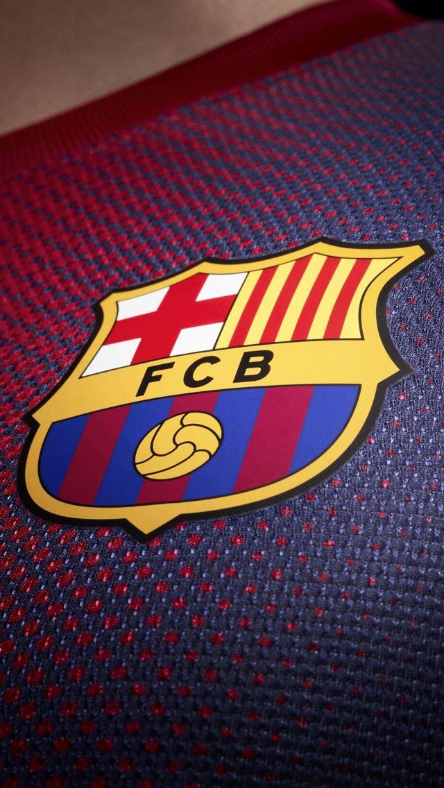 FCB Tshirt IPhone Se Wallpaper