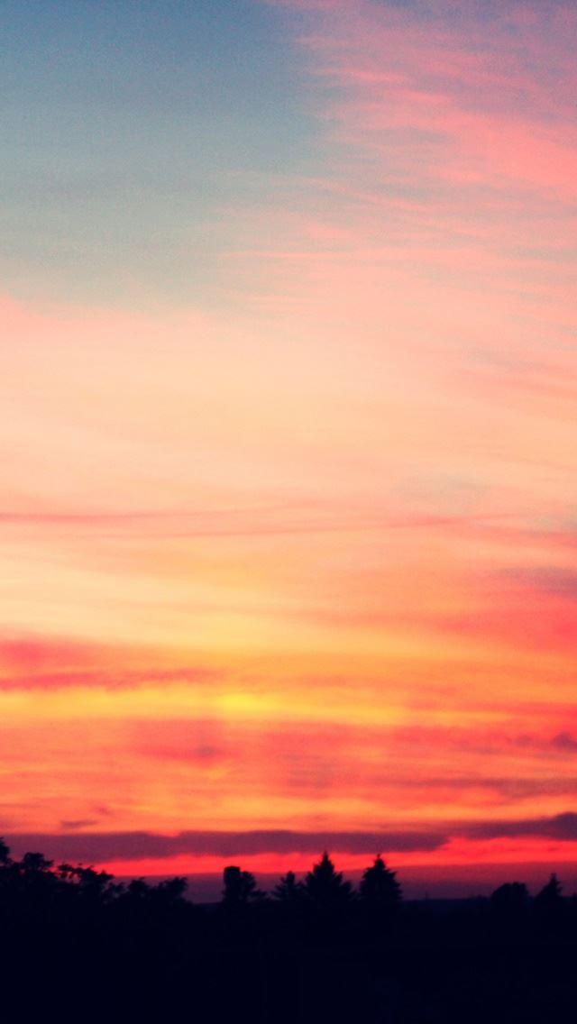 Sunset 16 IPhone Se Wallpaper