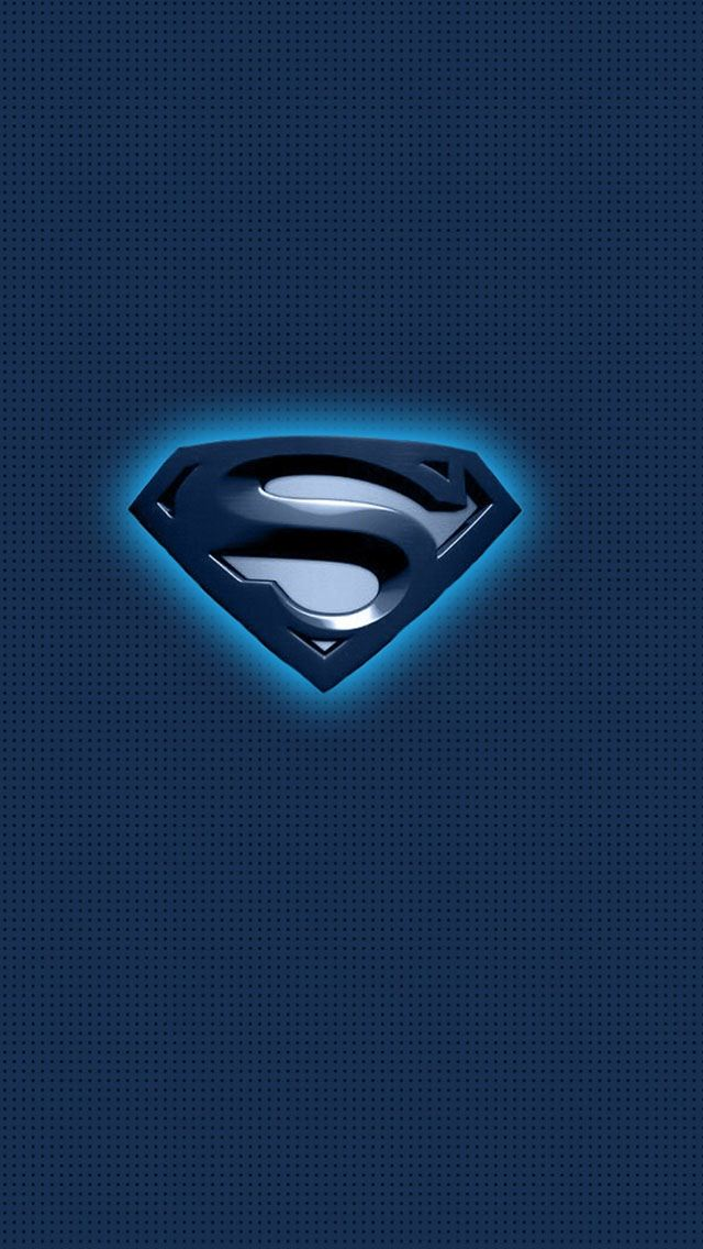 Superman Blue Logo IPhone Se Wallpaper