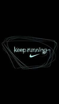 running nike iPhone wallpaper