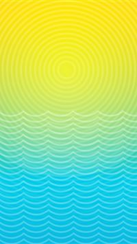 Pure Swirl Wave Line iPhone wallpaper