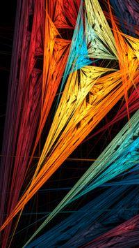 Bright color iPhone wallpaper