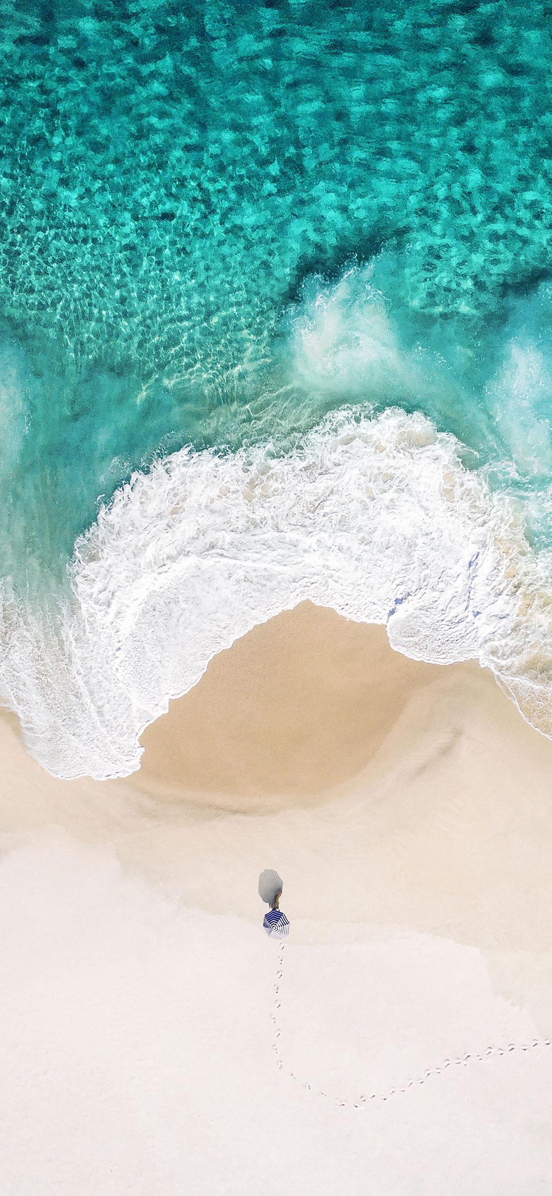 Summer Ocean iPhone X wallpaper