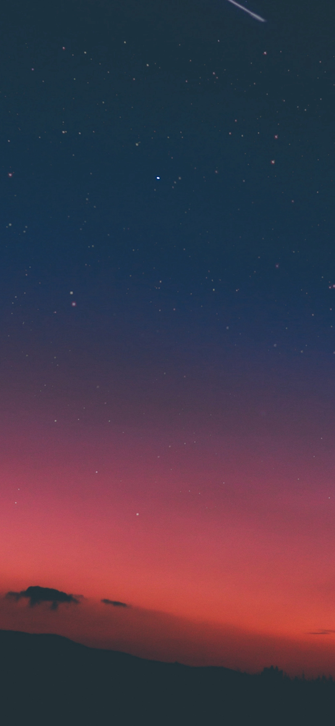Wallpaper iphone sky - Night Sky Sunset Pink Nature Iphone X Wallpaper