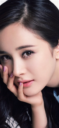 Yang Mi Chinese Star Beauty Film iPhone X wallpaper