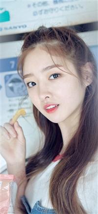 Cute Girl Kpop Young iPhone X wallpaper