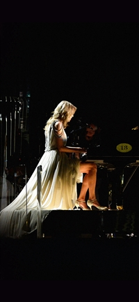 Taylor Swift Piano Concert Woman Music iPhone X wallpaper