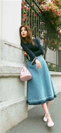 Nana Kpop Girl Spring iPhone X wallpaper