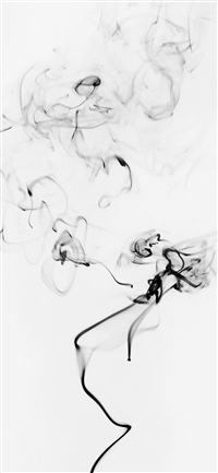 Smoke Bw White Minimal Black iPhone X wallpaper